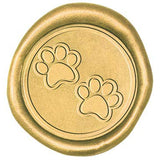 Wax Seal Stamp - Paw Print