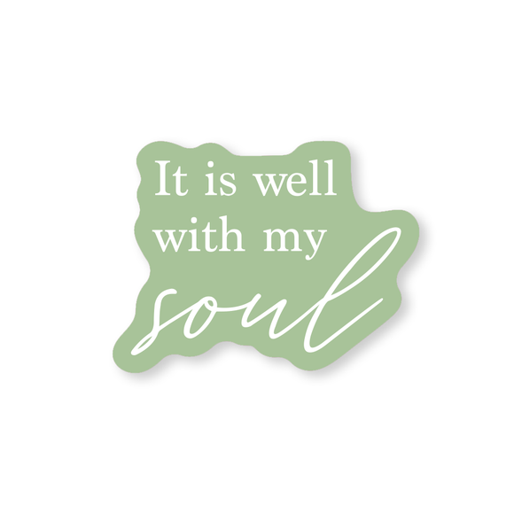 Well with my Soul Sticker
