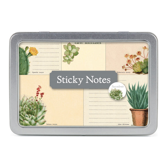 Succulents Sticky Notes