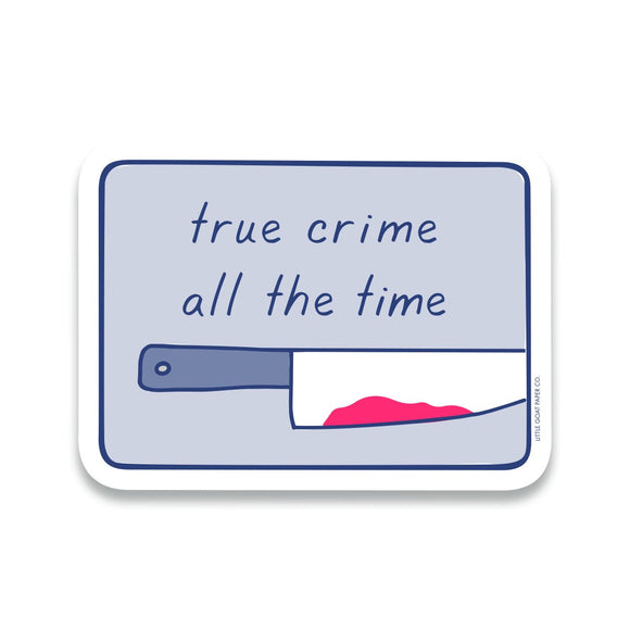 True Crime Sticker
