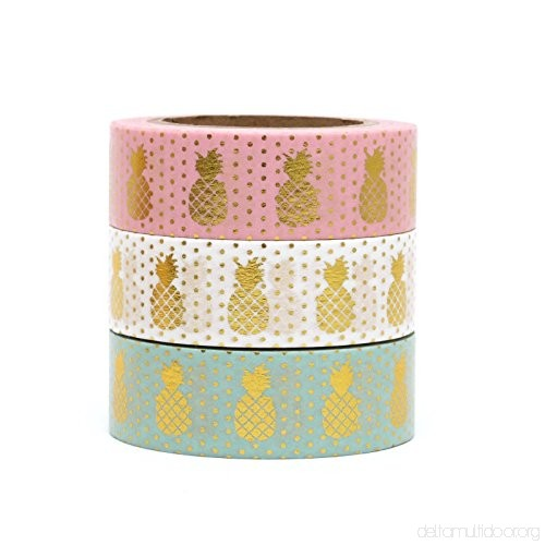 Pineapple Washi Tape (multiple colors)