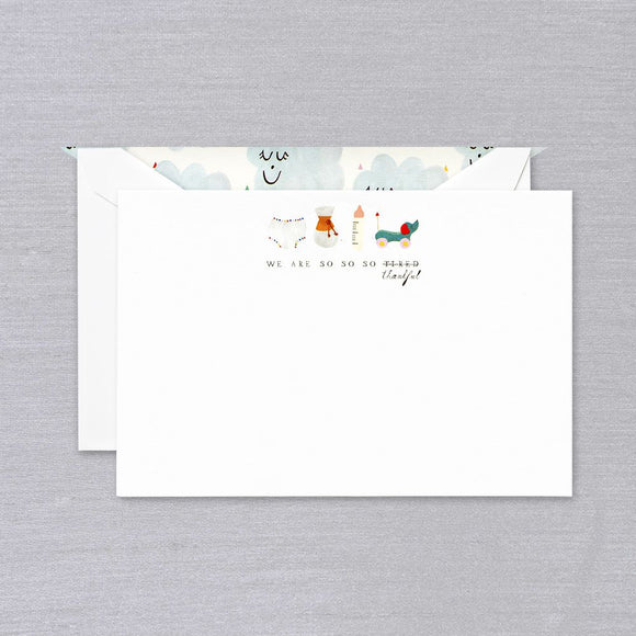 Baby Shower Thank You Note (Set of 10)