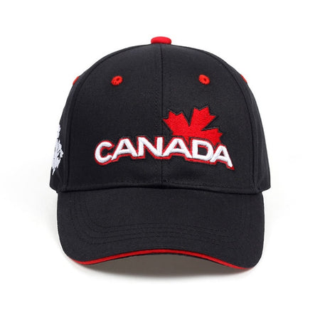 CANADA Letter Cotton Embroidery Baseball Caps Snapback Hat For Men Women Leisure Hat Cap