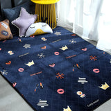 Geometric Plush Nordic Rug and Carpets for Living Room Bedroom Floor Climbing Child Kid Baby Play Mat Bathroom Door Mat alfombra