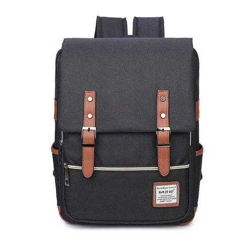 Fashion Vintage Laptop Backpack Women school Bags Men Oxford Travel Leisure Backpacks Retro Casual Bag School Bags For Teenager