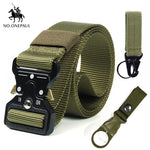 NO.ONEPAUL Men's casual fashion tactical belt alloy automatic buckle