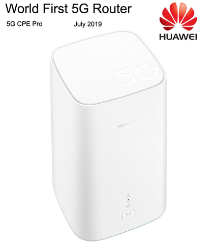 Best World First HUAWEI 5G CPE Pro Routers With Balong 5000 Chipset 2.3 Gbps of Download Speed Dual Band Gigabit Wireless