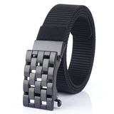 MEDYLA 2020 new alloy buckle men's belt personality design adjustable breathable