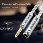 Jack 3.5 mm Audio Extension Cable Headphone Extension Cable 3.5mm Jack Aux Cable 3.5mm Extender Cord For Computer iPhone Player