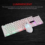 Combo PC Gamer LED Gaming Keyboard And Mouse Set Wired 2.4G Keyboard Gamer Keyboard Illuminated Gaming Keyboard Set For Laptop
