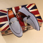 2019 new men's shoes Doudou shoes men's driving shoes a pedal tide shoes men