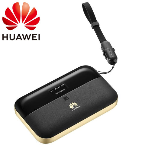 Global HUAWEI Mobile Wifi 2 Pro Router 4G+ Netwrok up to 300 Mbps Download Speed RJ45 USB Ports Wi-Fi Dual band 2.4 GHz 5 GHz