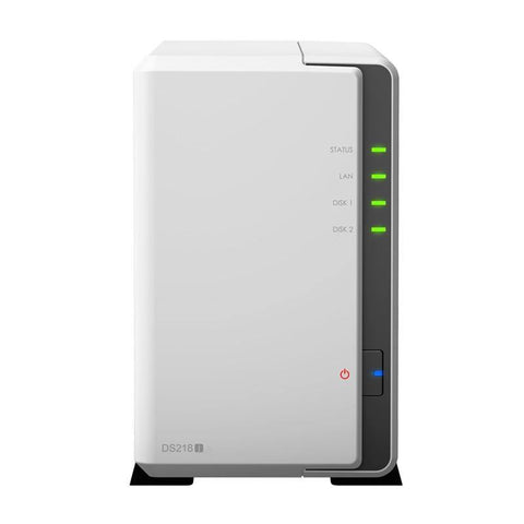 Synology NAS Disk Station DS218j 2-bay diskless nas server nfs network storage cloud storage, 2 years warranty Orignal