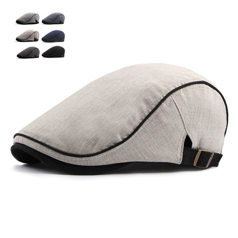 Fashion Summer Beret Caps For Men Women Cotton Visors Sun Hat Outdoor Mens Flat Caps Adjustable Berets Casquette Boina Caps