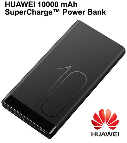HUAWEI 10000 mAh SuperCharge Power Bank Type-C Input Travel Charger With Type-C for Smartphone Laptop Universal Compatibility