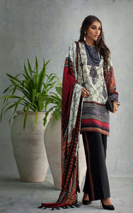 Unstitched Khaddar 3PC Suit