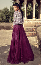 Unstitched Embroidered Jacket With Skirt
