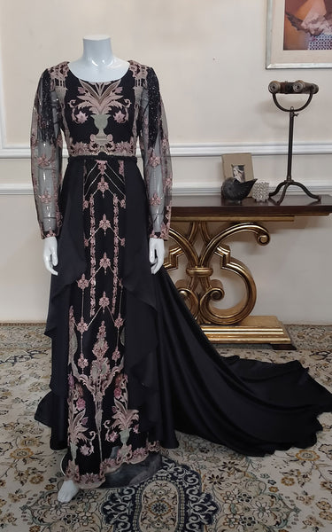 Unsttiched embroidered dress
