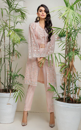 Mirror Work Embroidered Shirt