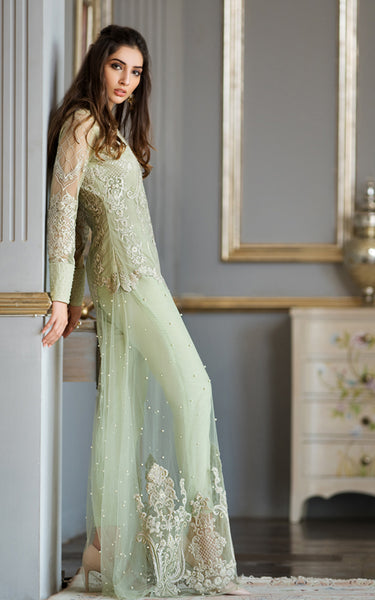 Appliqued Embroidered Dress