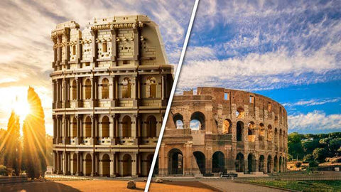 LEGO will release its largest set ever - a model of the Colosseum with over 9,000 pieces