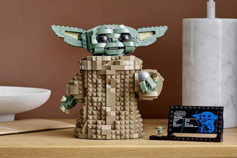Lego has released its own Baby Yoda building set