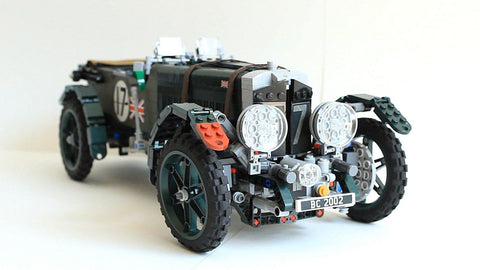 Rare Bentley Blower built with Lego