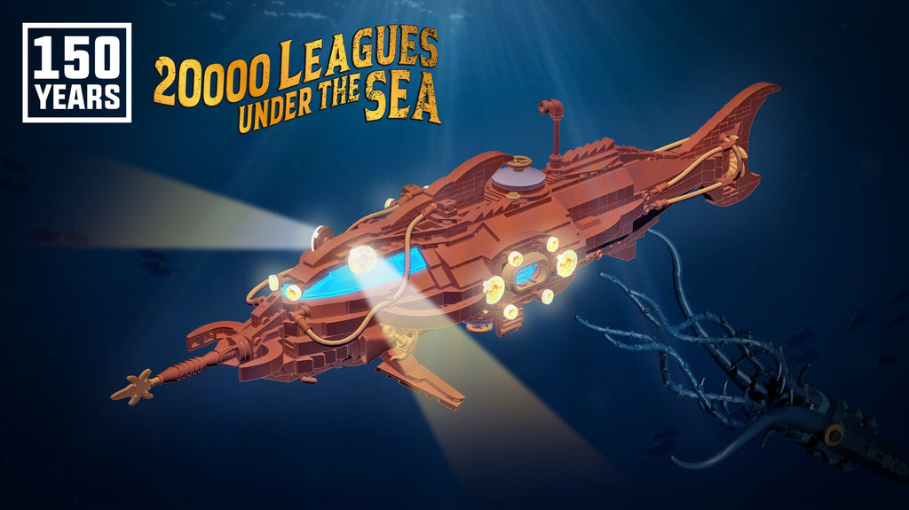 150 Years of 20 000 Leagues Under the Sea LAMINIFIGS