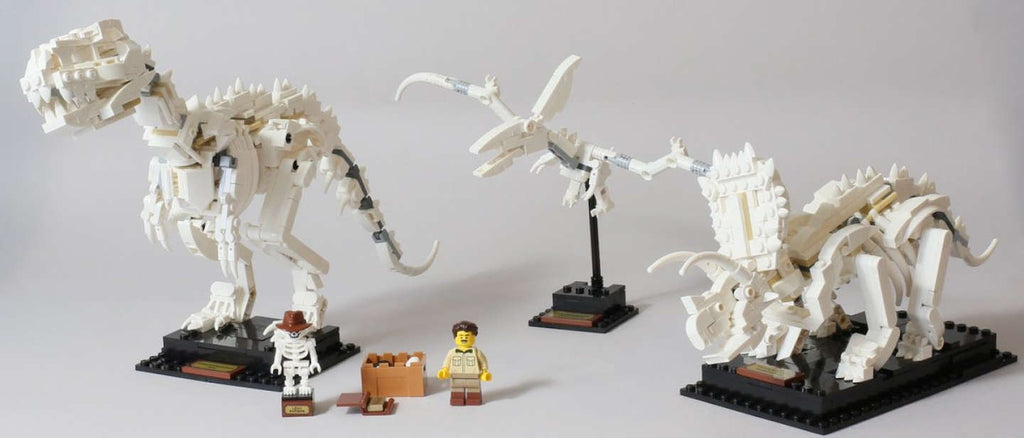LEGO released Dinosaur fossils building set | LAMINIFIGS
