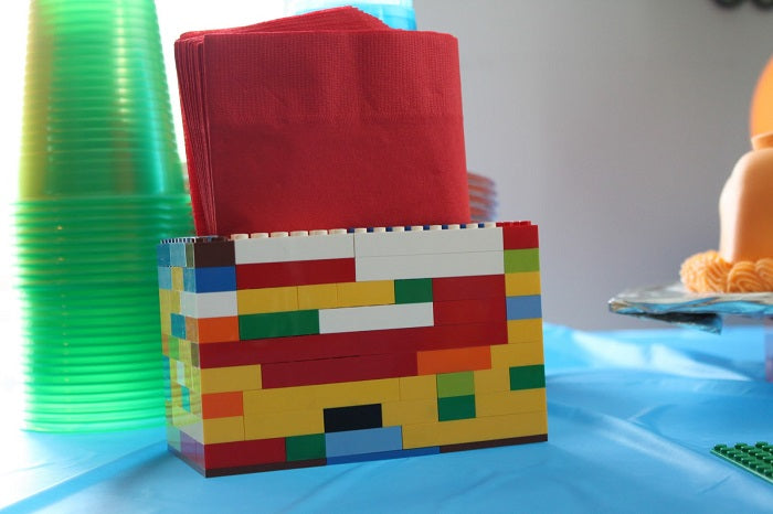 lego napkin holder idea laminifigs