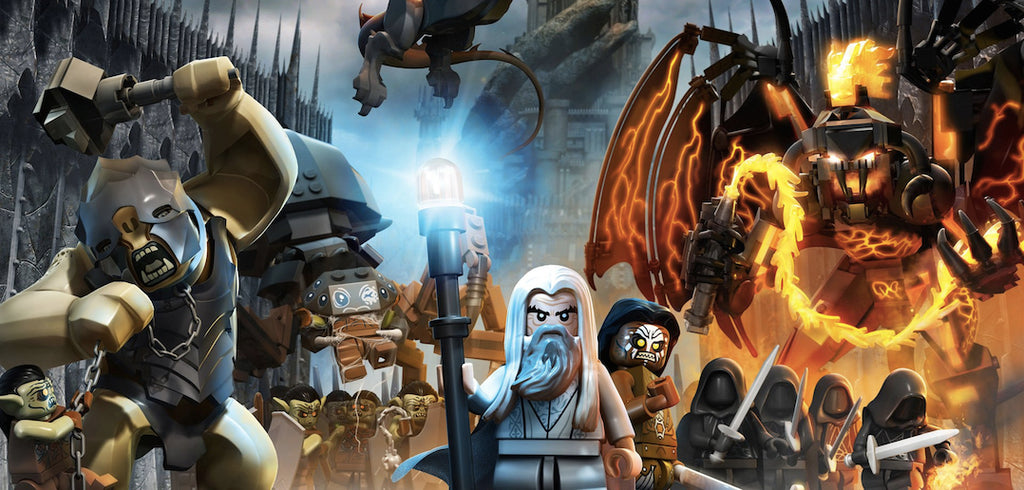 LEGO® The Lord of the Rings steam game humble
