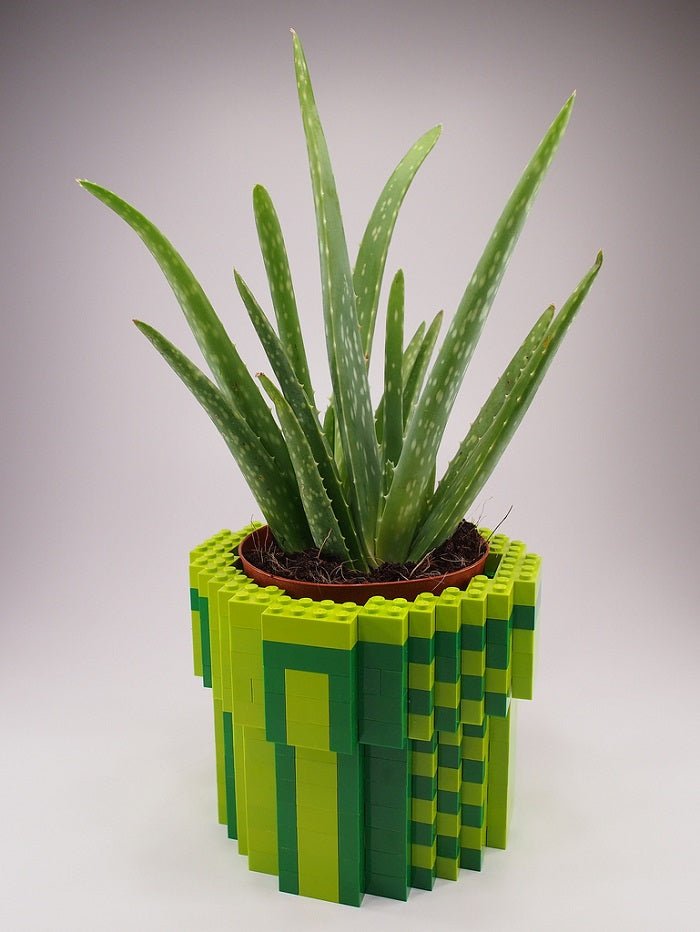 lego flower pot idea laminifigs