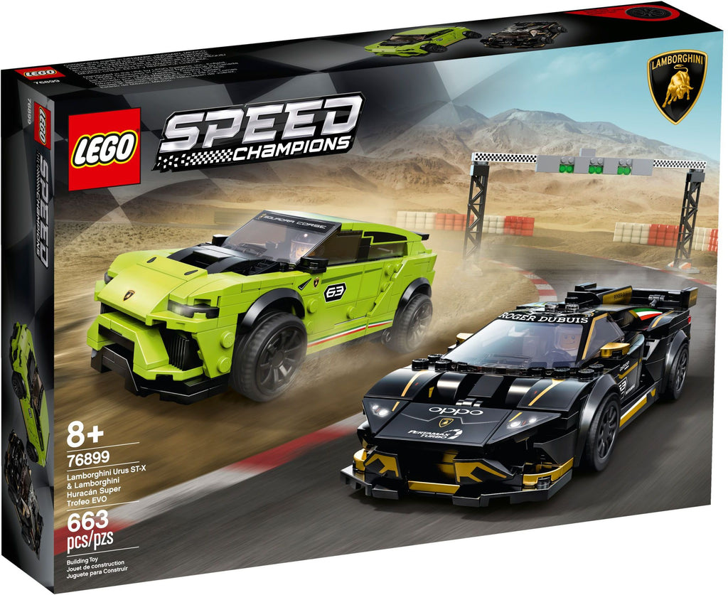 Lamborghini Huracan and Urus will join Lego Speed Champions collection | LAMINIFIGS
