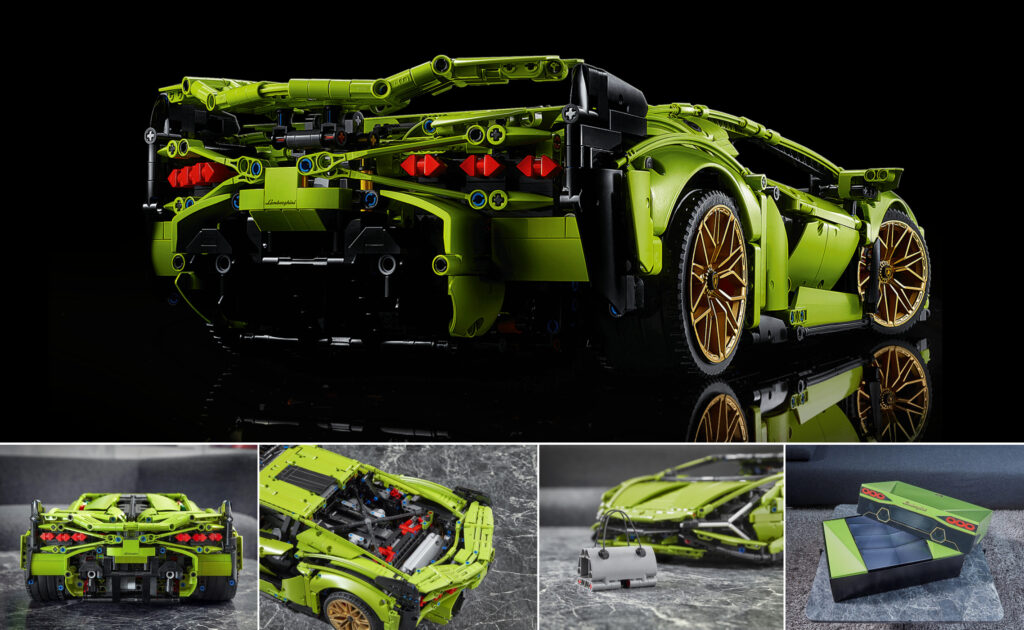 LEGO showed the model of the most powerful Lamborghini supercar | LAMINIFIGS