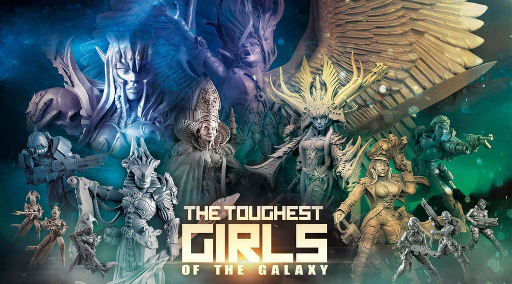 The toughest Girls of the Galaxy