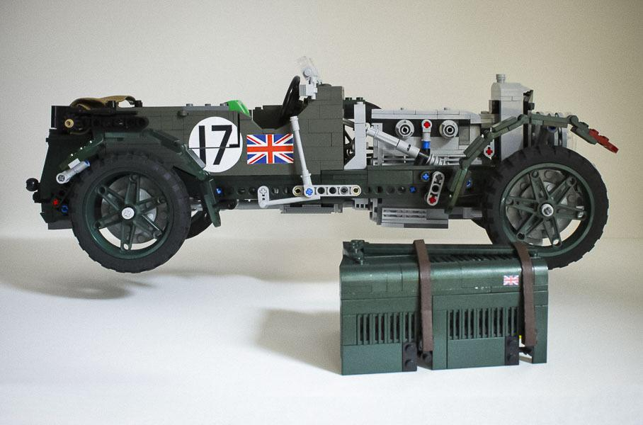 Rare Bentley Blower built with Lego | Laminifigs
