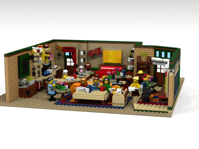 LEGO® has published a teaser for the new LEGO Ideas Friends set