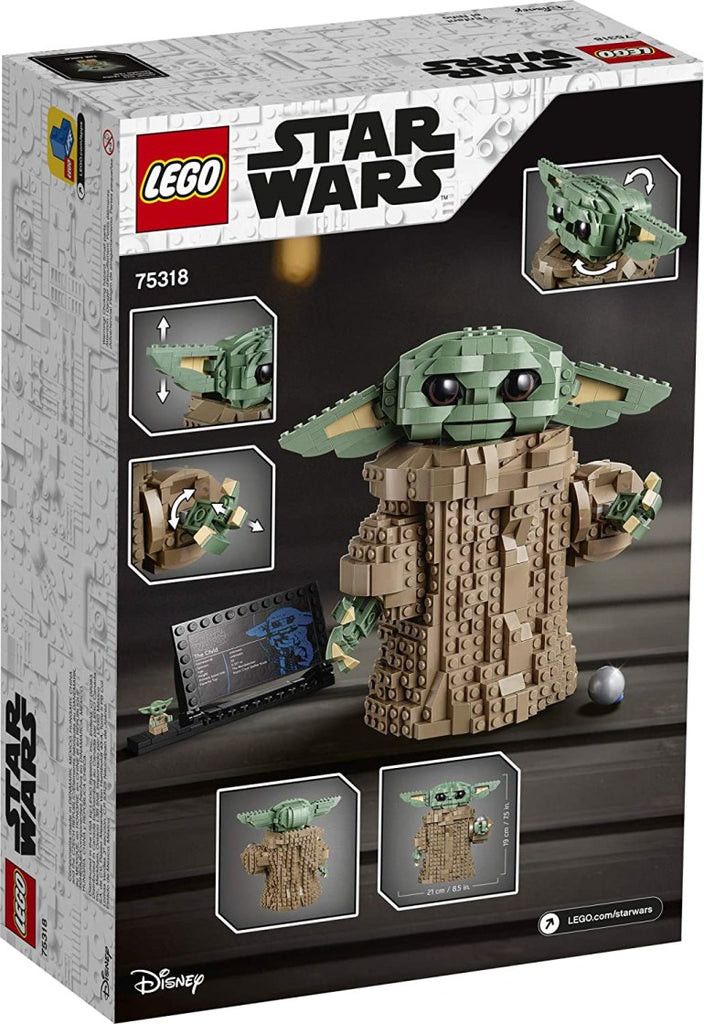 Lego has released its own Baby Yoda building set | Laminifigs.com
