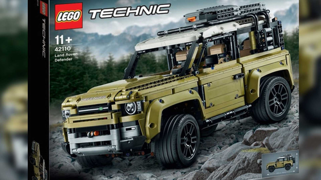 New LEGO® Technic Land Rover Defender 2020 set has been leaked!
