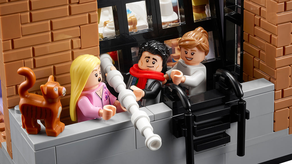 """LEGO presented another set based on """"Friends"""" - LAMINIFIGS"""