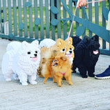 Pomeranian Dog Sculptures - LAminifigs