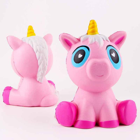 14cm Lovely Pink Squishy Unicorn - LAminifigs