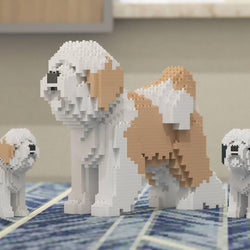 Tibetan Terrier Dog Sculptures - LAminifigs