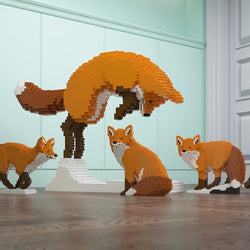 Foxes Sculptures - LAminifigs