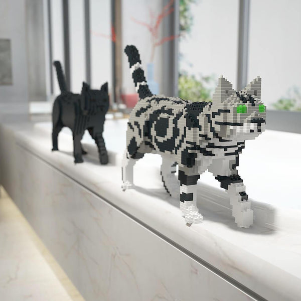 American Shorthair Cats Sculptures - LAminifigs