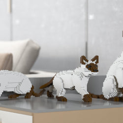 Siamese Cats Sculptures - LAminifigs
