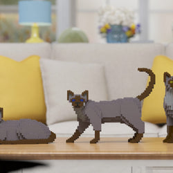 Tonkinese Cats Sculptures - LAminifigs