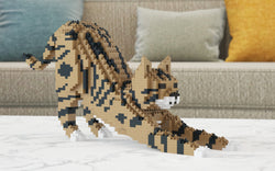 Brown Tabby Cat Sculpture - LAminifigs