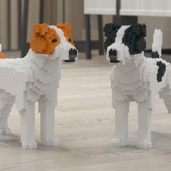 Jack Russell Terrier Dog Sculptures - LAminifigs