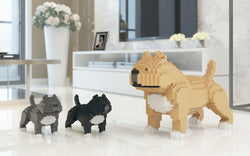 American Bully Dog Sculptures - LAminifigs